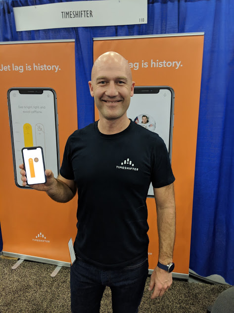 App Helps Jet Lagged Travelers Cope
